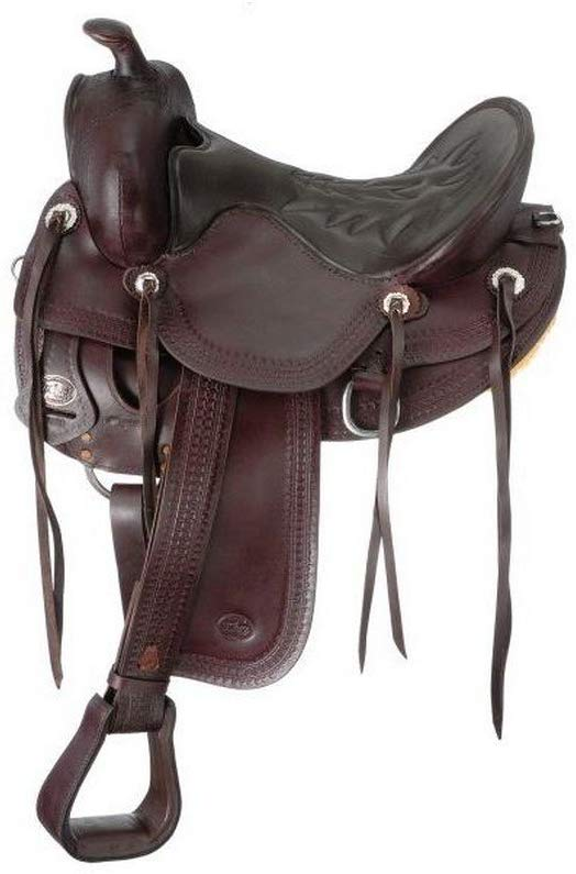King Series Round Ranch Saddle