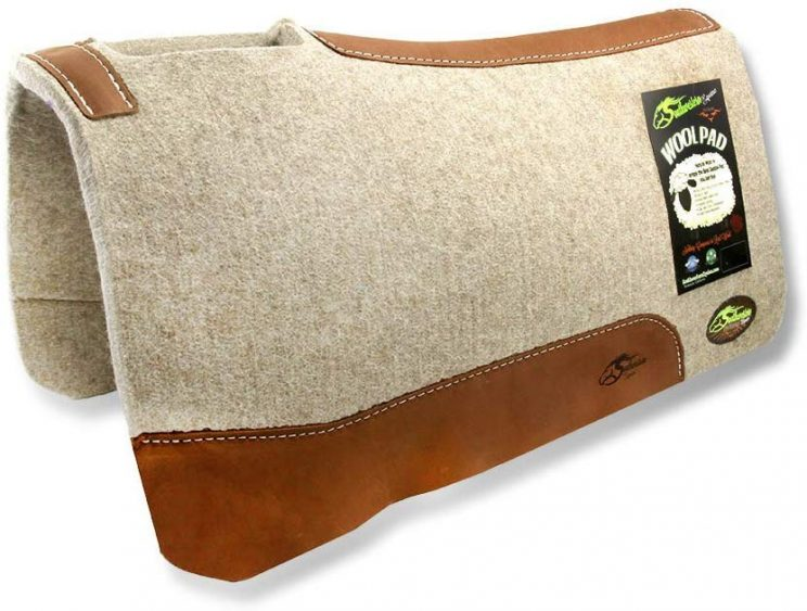 The Montana 100% Extra Fine Wool Saddle Pad